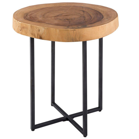 Image of Arcadia Wood Slab End Table