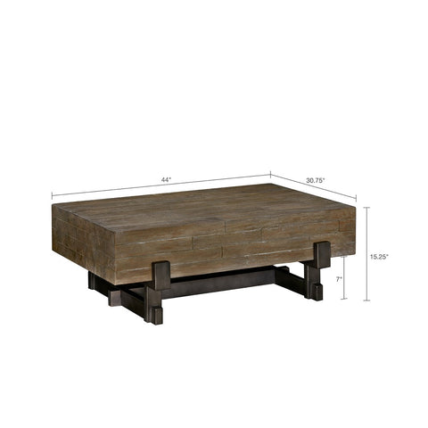 Image of Timber Mahogany Coffee Table
