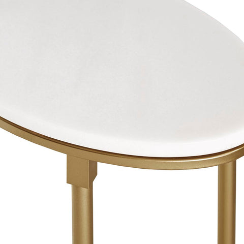 Image of Bordeaux Marble End Table