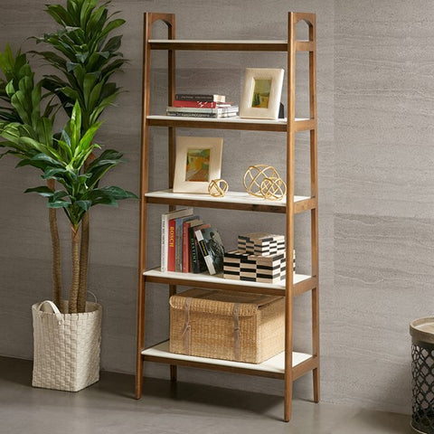 Parker Cream White Bookcase (Almost Gone)