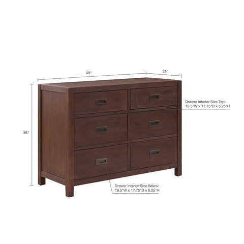 Image of 6-Drawer Harbor House Hammond Dresser