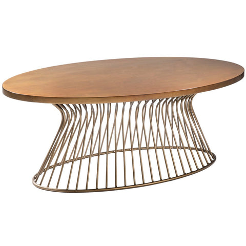 Image of Mercer Bronze Coffee Table