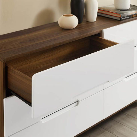 Origin Six-Drawer Wood Dresser
