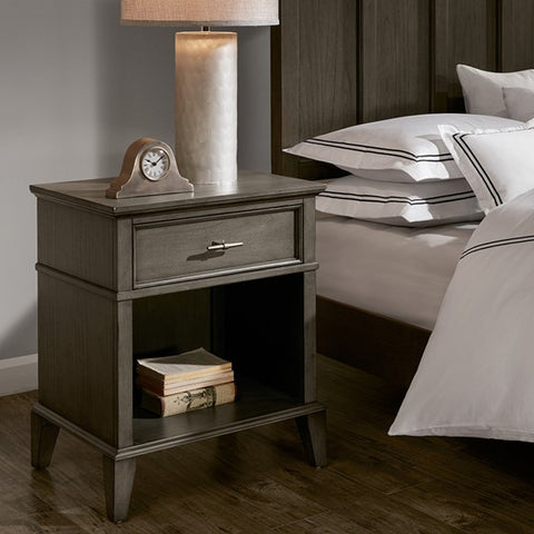 Image of Yardley 1-Drawer Night Stand