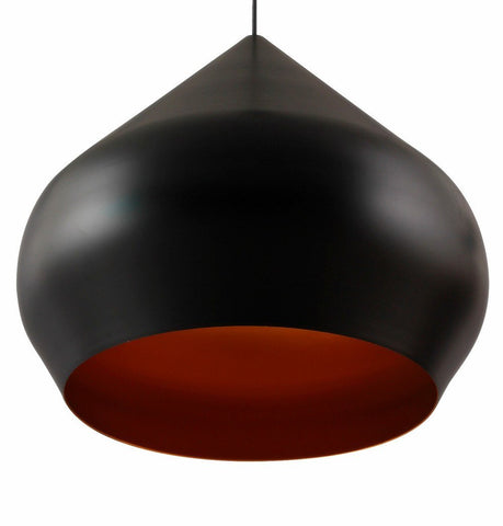 Image of Beat Shade Stout Pendant Lamp - Small - Black - Reproduction