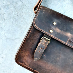 Handmade Village Messenger satchel
