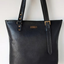 Load image into Gallery viewer, Classic Black Shopper Bag