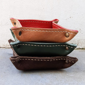Leather Bowls Various Colours