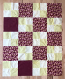 Choose Your Own Adventure - Easy Squares Quilt book