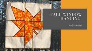 Fall Modern Pojagi Window Hanging online course