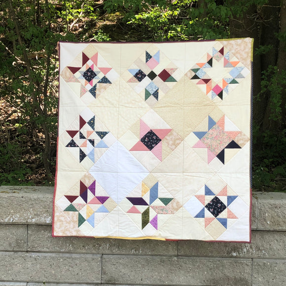 Twinkle Sampler Quilt - digital pattern