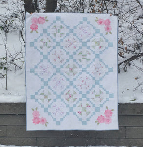 No Flies in my Garden quilt pattern