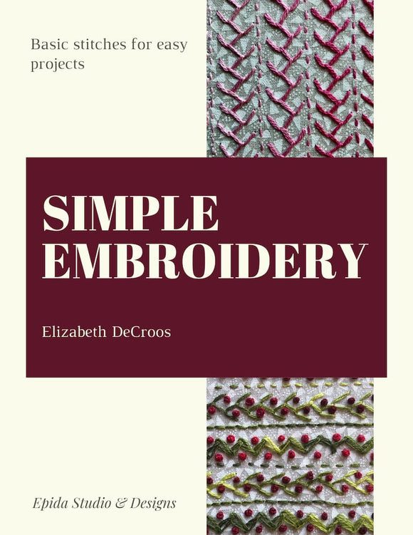 Simple Embroidery ebook