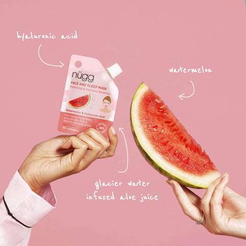 #NEWFROMNUGG: Watermelon & Hyaluronic Acid Sleeping Mask