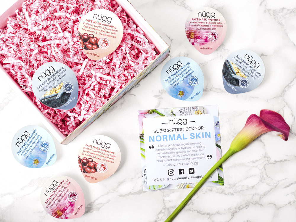 Monthly Face Mask Beauty Box: Normal Skin