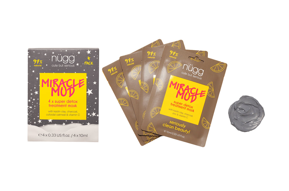 Miracle Mud Skin Detox Mask 4 Pack - Holiday Gift