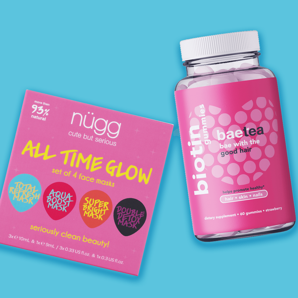 NEW! All Time Glow Value Set (All Time Glow + Biotin Gummy)