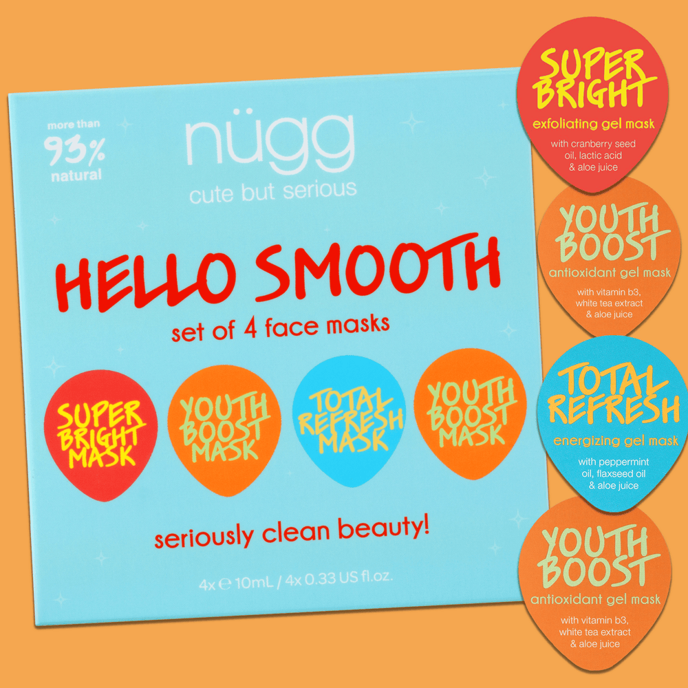 Hello Smooth Face Mask Set for Mature & Aging Skin