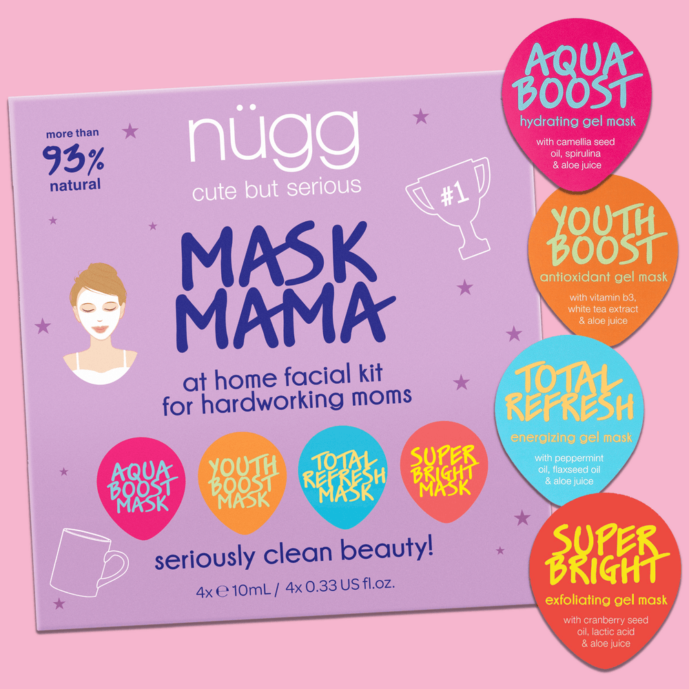 NEW! Mask Mama Gift Set – 4 Face Masks