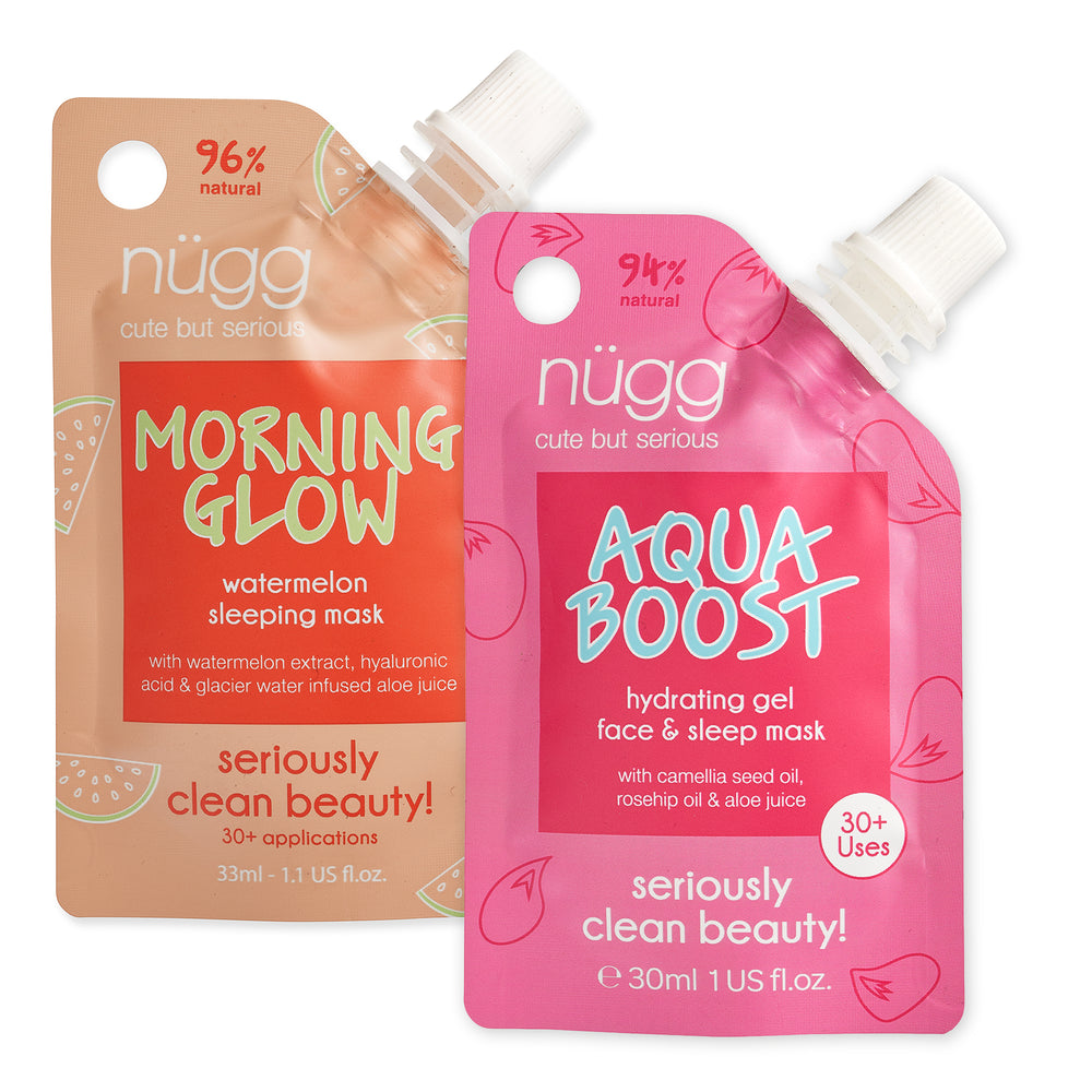 NEW! Aqua Boost & Morning Glow DUO 2-pack Value Bundle ($19.98 value)