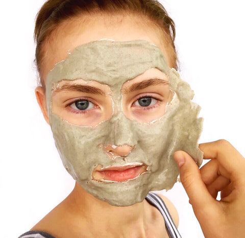 Mermaid Marine Rubber Peel Off Face Mask