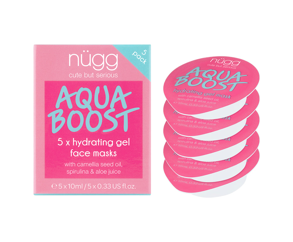 Aqua Boost Moisturizing Face Mask Single Pod 5-pack