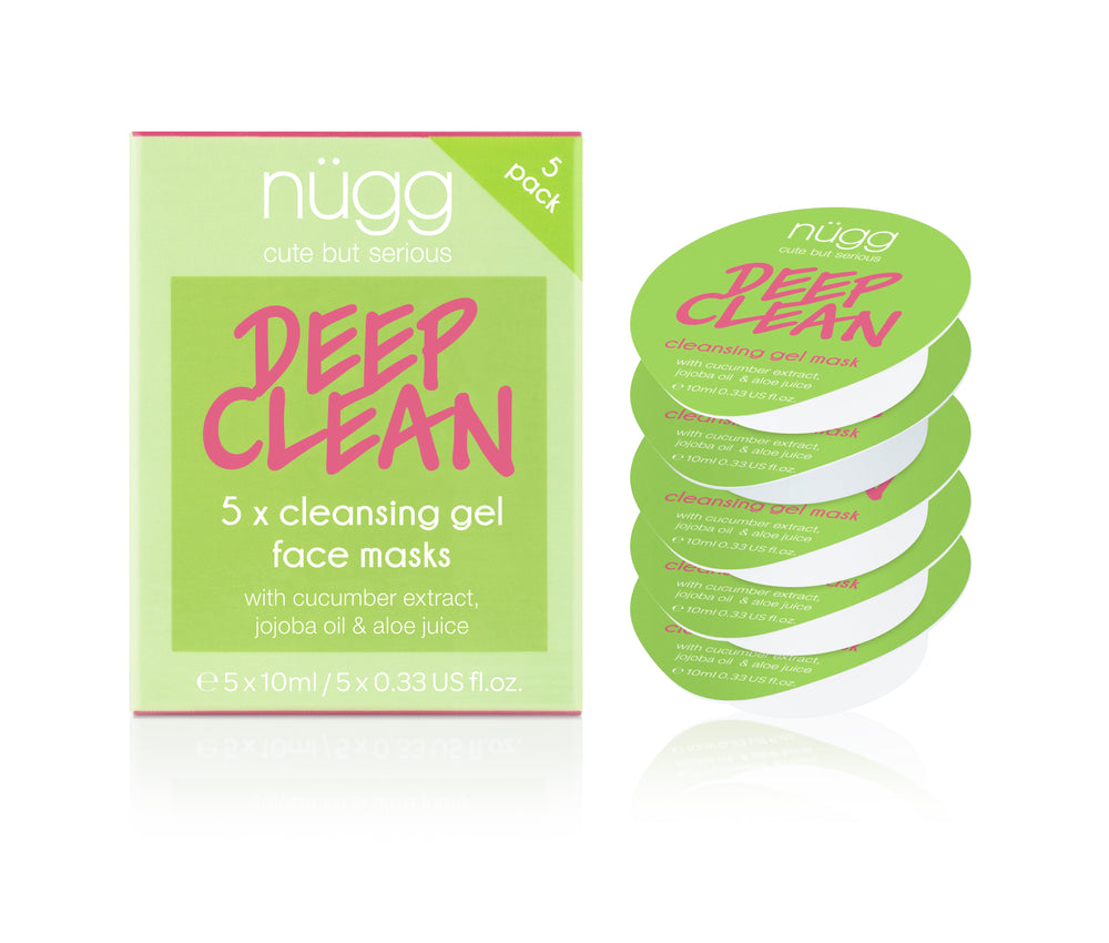 Deep Clean 2-in-1 Cleansing & Soothing Face Mask 5-pack