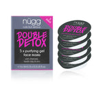 double detox purifying gel face mask nugg beauty