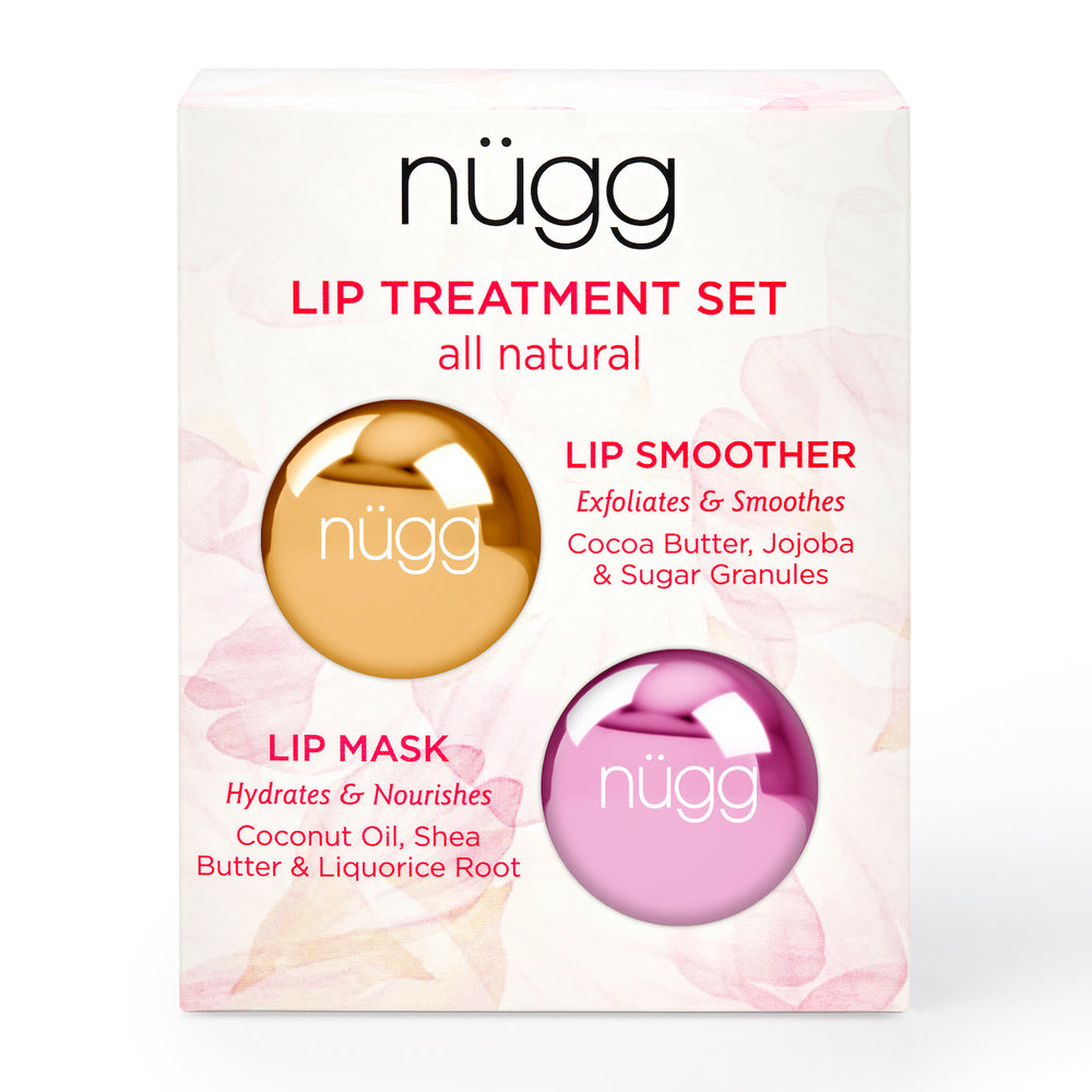 Lip Treatment Set for Luscious Lips - All Natural & Vegan