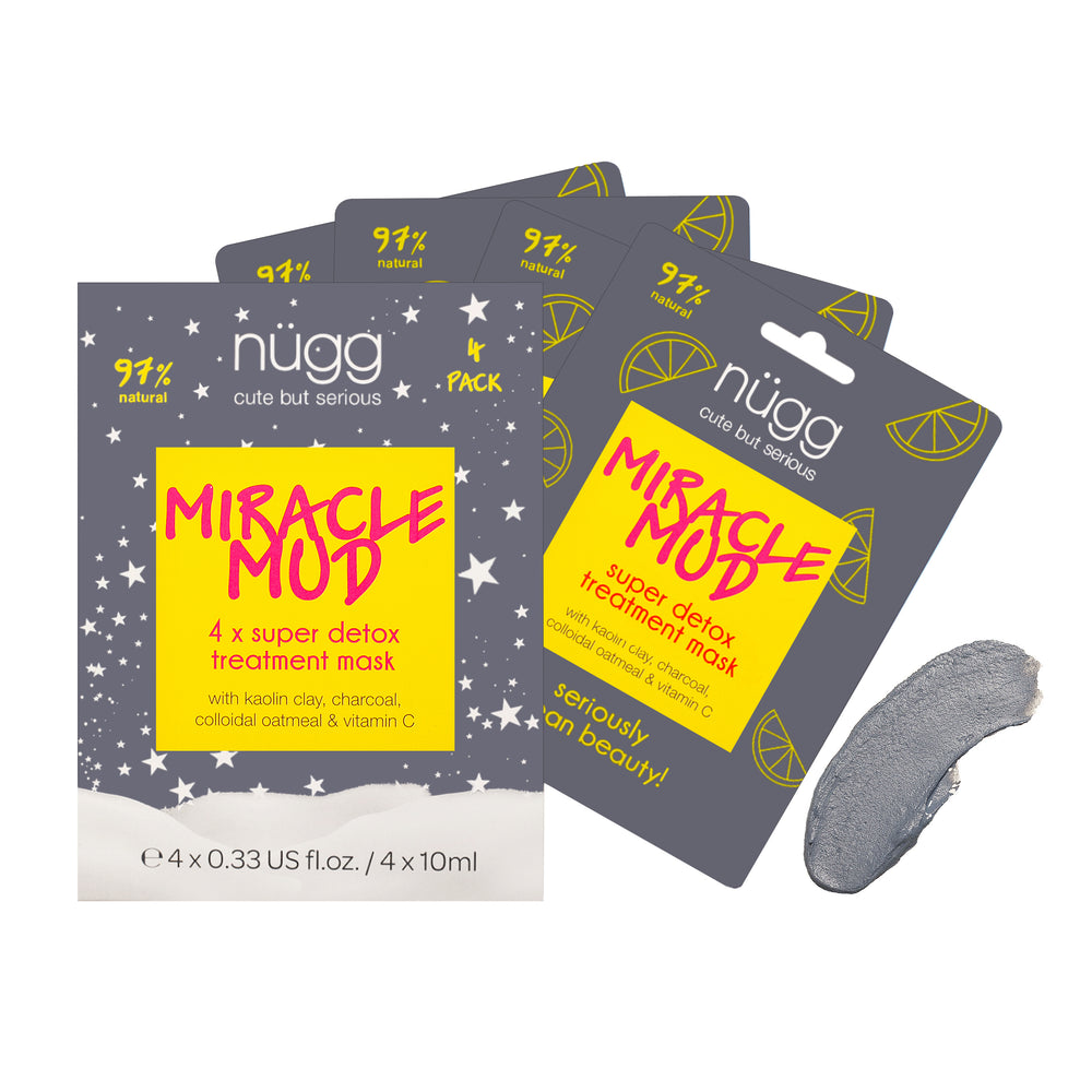 Miracle Mud Skin Detox Mask 4 Pack