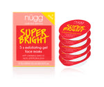 Super Bright Exfoliating & Brightening Face Mask 5-pack