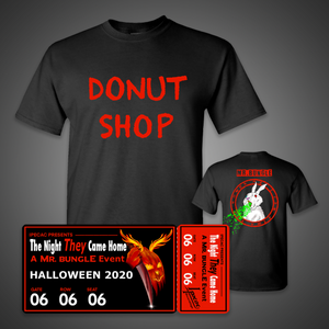 "Virtual Ticket + ""Donut Shop"" T-Shirt"