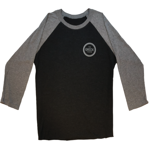 Dark Grey Baseball Shirt