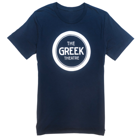 White/Blue Logo T-Shirt
