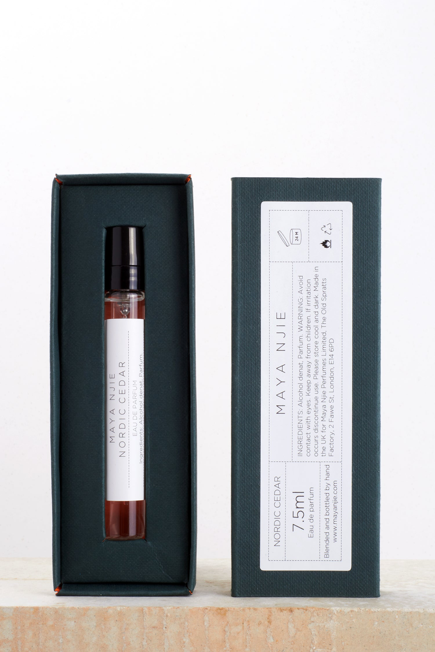NORDIC CEDAR SINGLE POCKET PERFUME 7.5ML