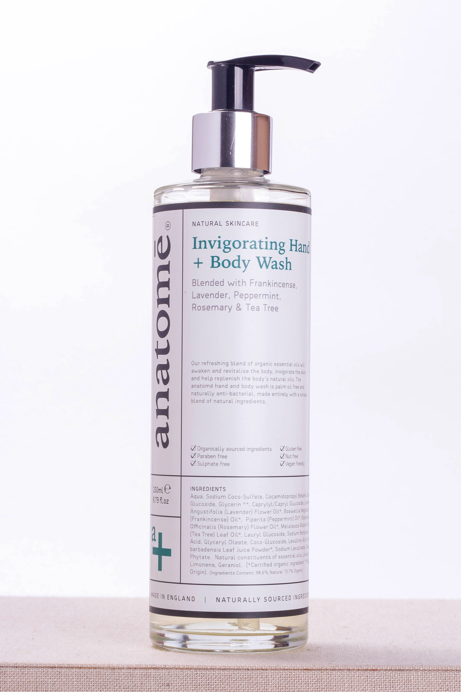 Invigorating Hand + Body Wash 250ML