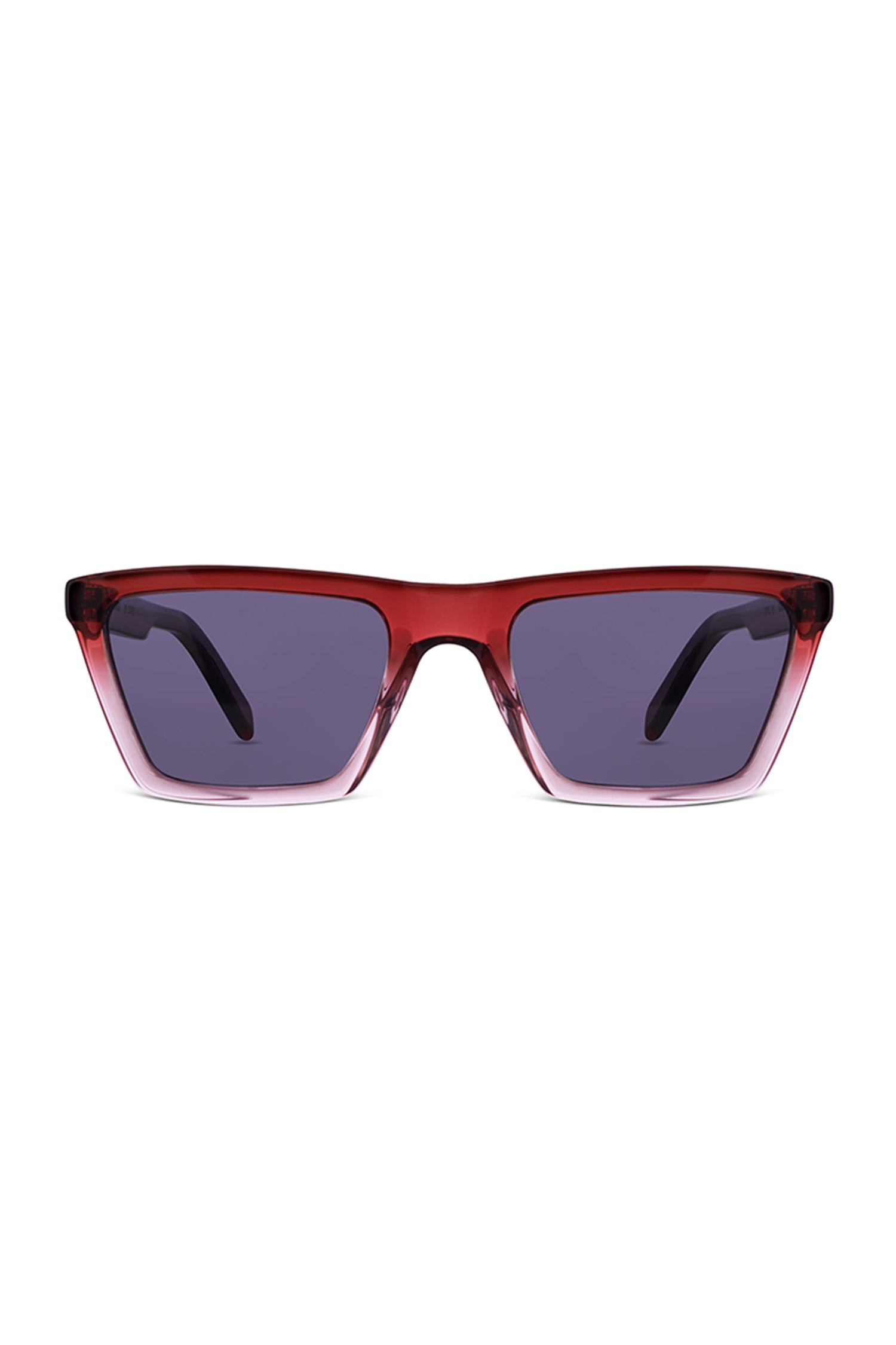 Blake -Ruby Fade with Grey Lenses