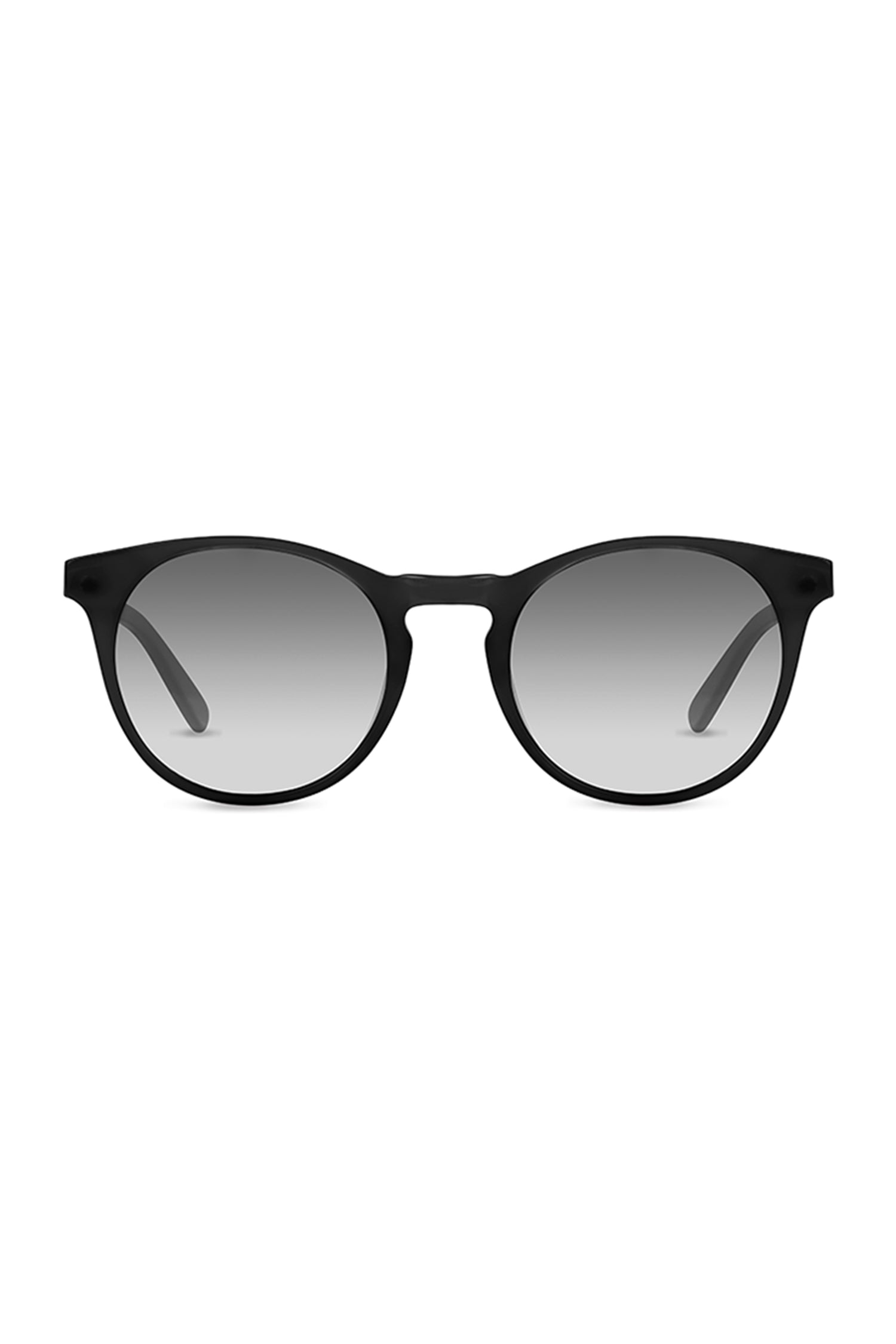 Percy - Matte Black with Grey to White Lenses