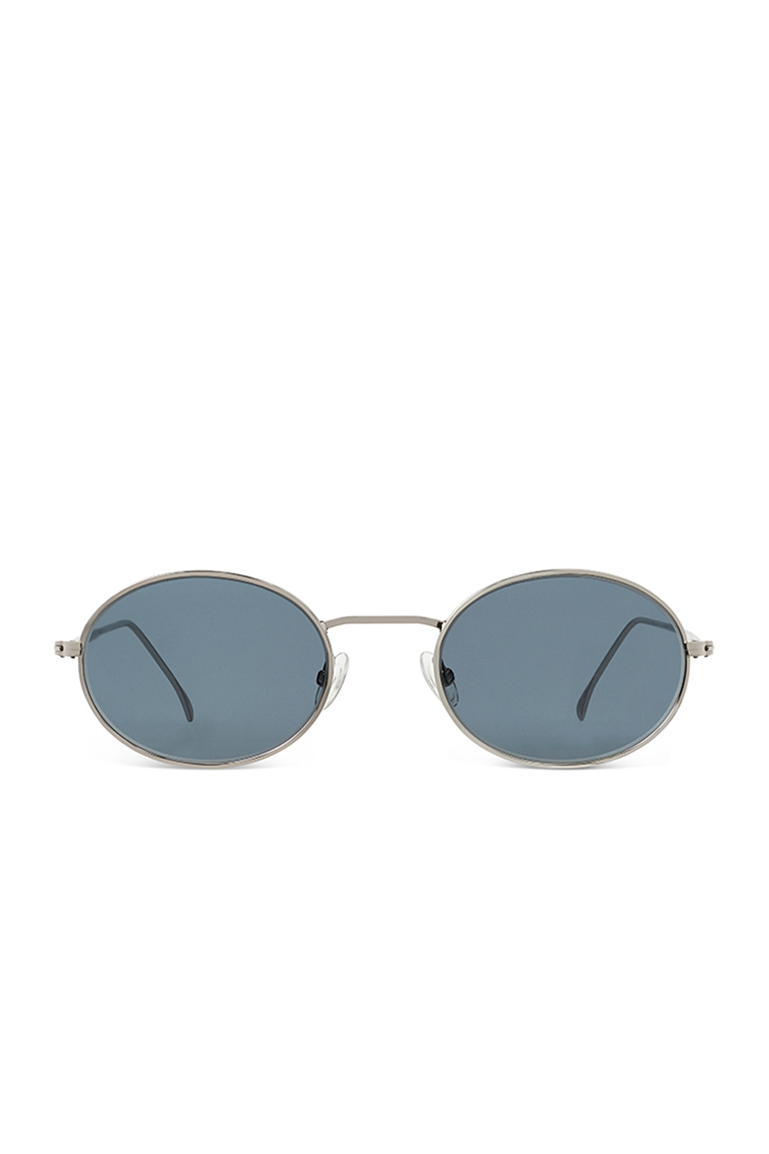 Theodore - Silver/ Blue  Lenses