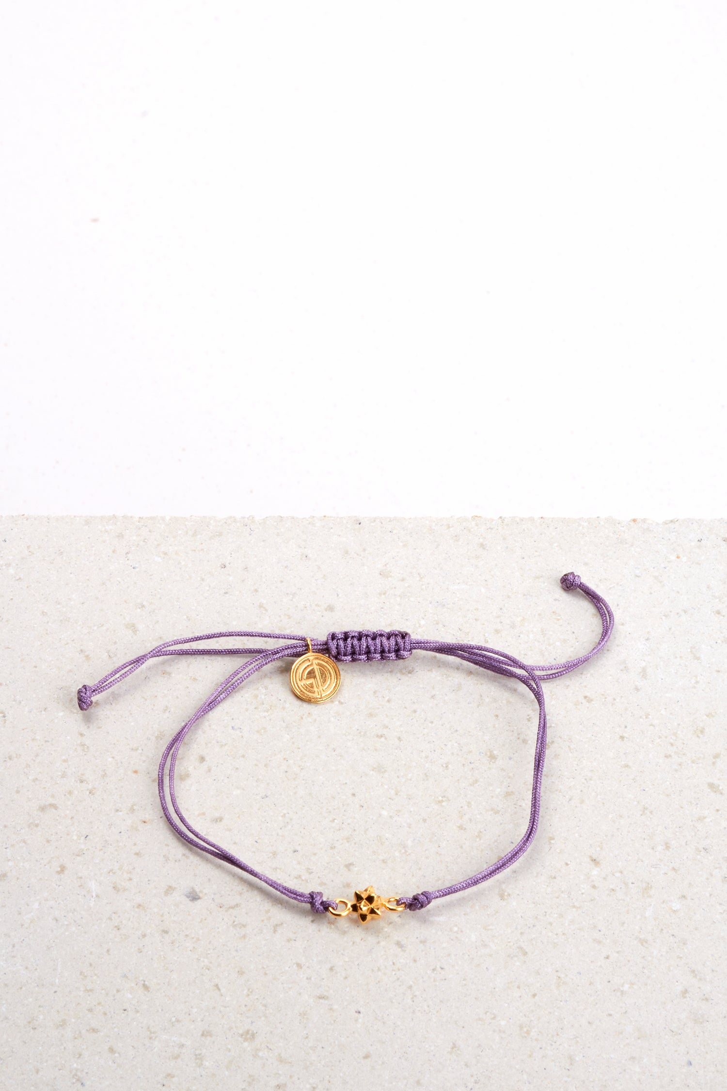 MINI VEGA BRACELET LILAC THREAD