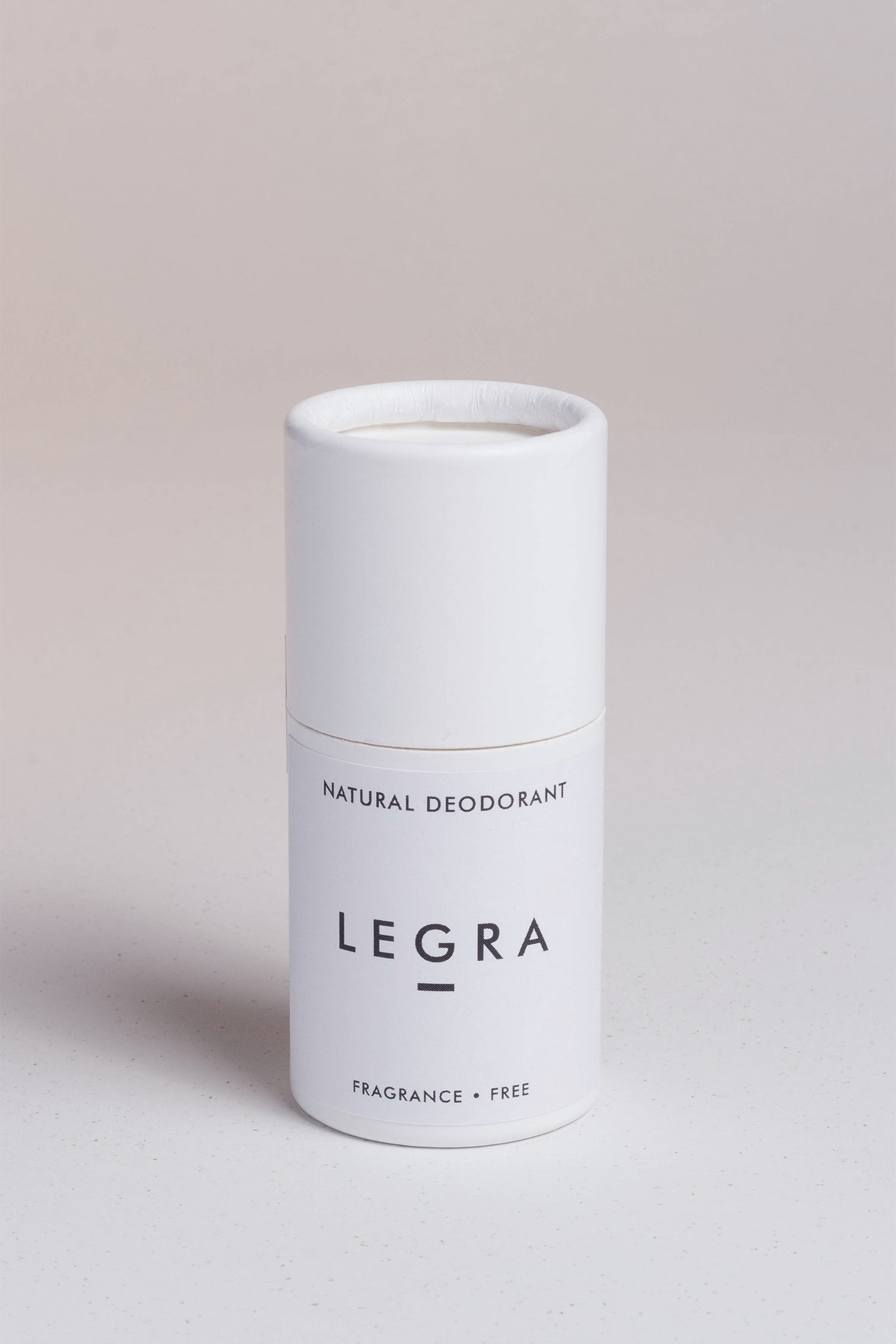 NATURAL DEODORANT STICK. FRAGRANCE FREE