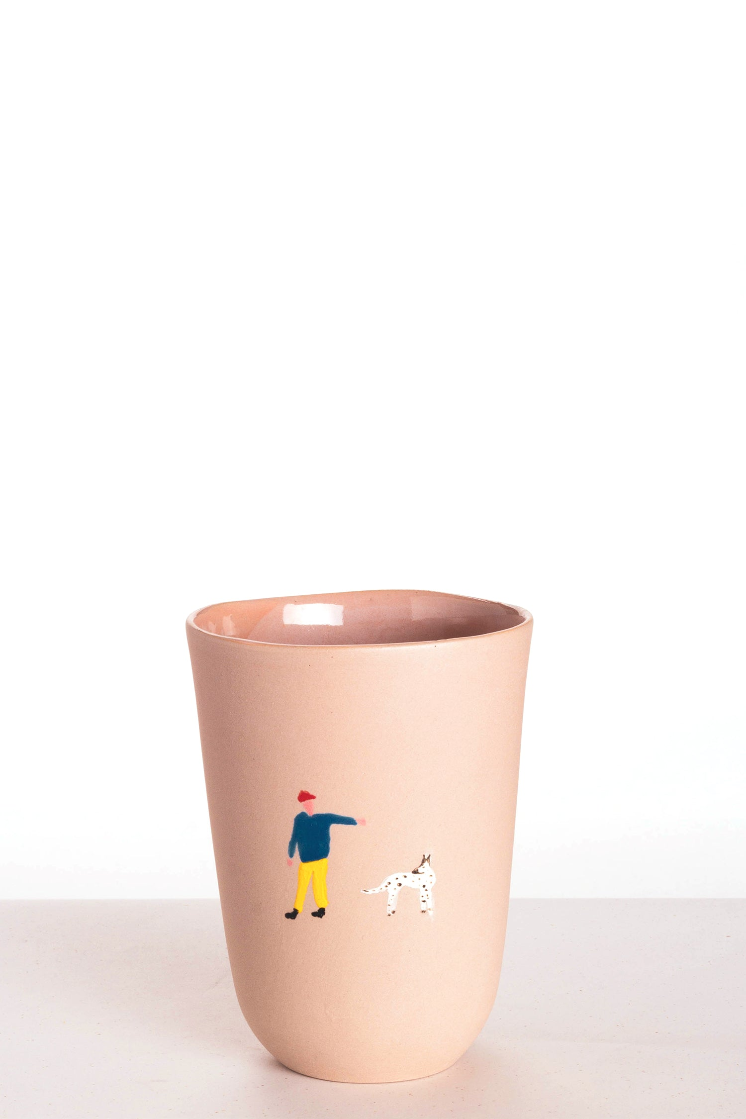 HIGH CUP - PINK -  dog walking