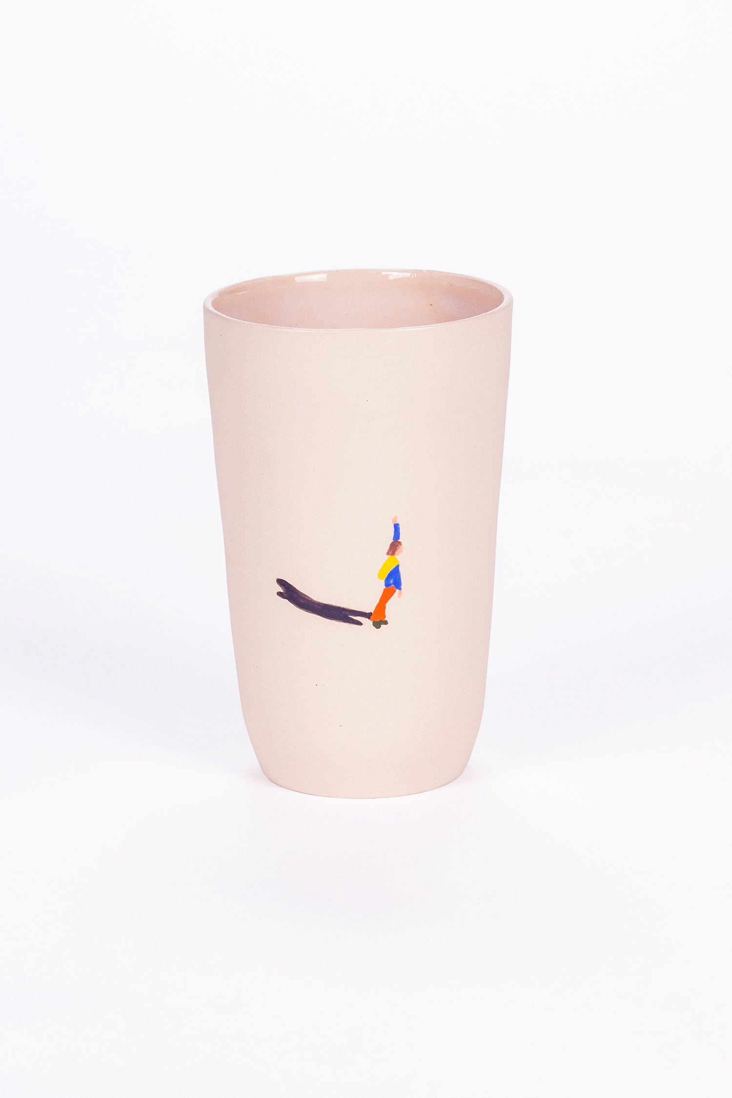 HIGH CUP - PINK - WAVE