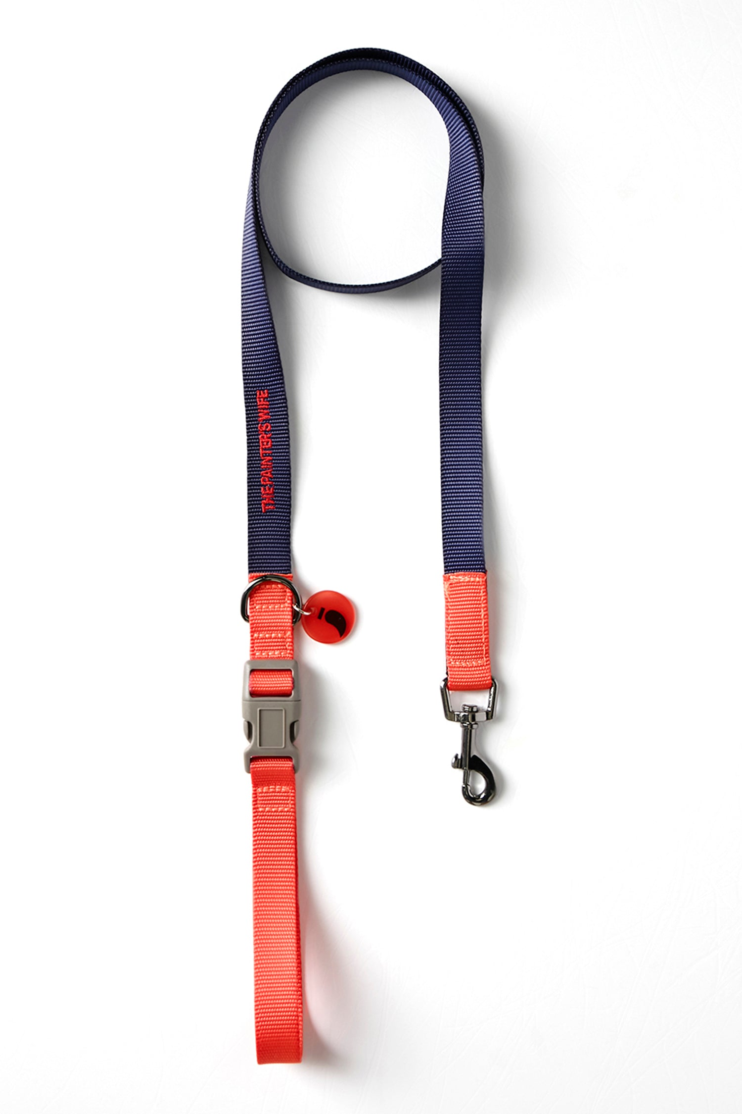 LEASH SONIA - NAVY & VERMILION