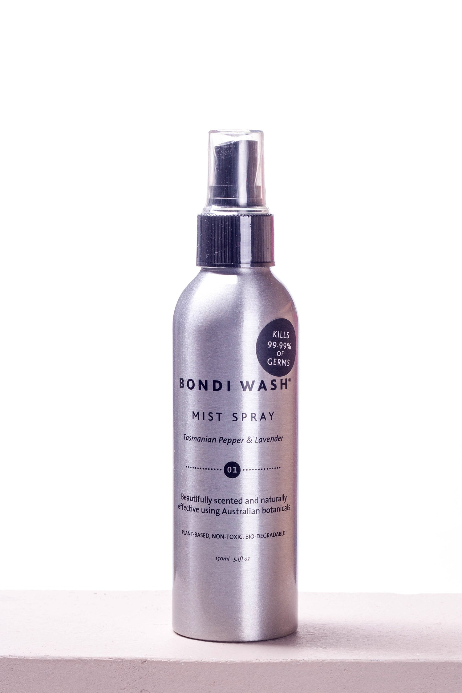 MIST SPRAY FOR ROOMS & LINEN- TASMANIAN PEPPER & LAVENDER 150ml