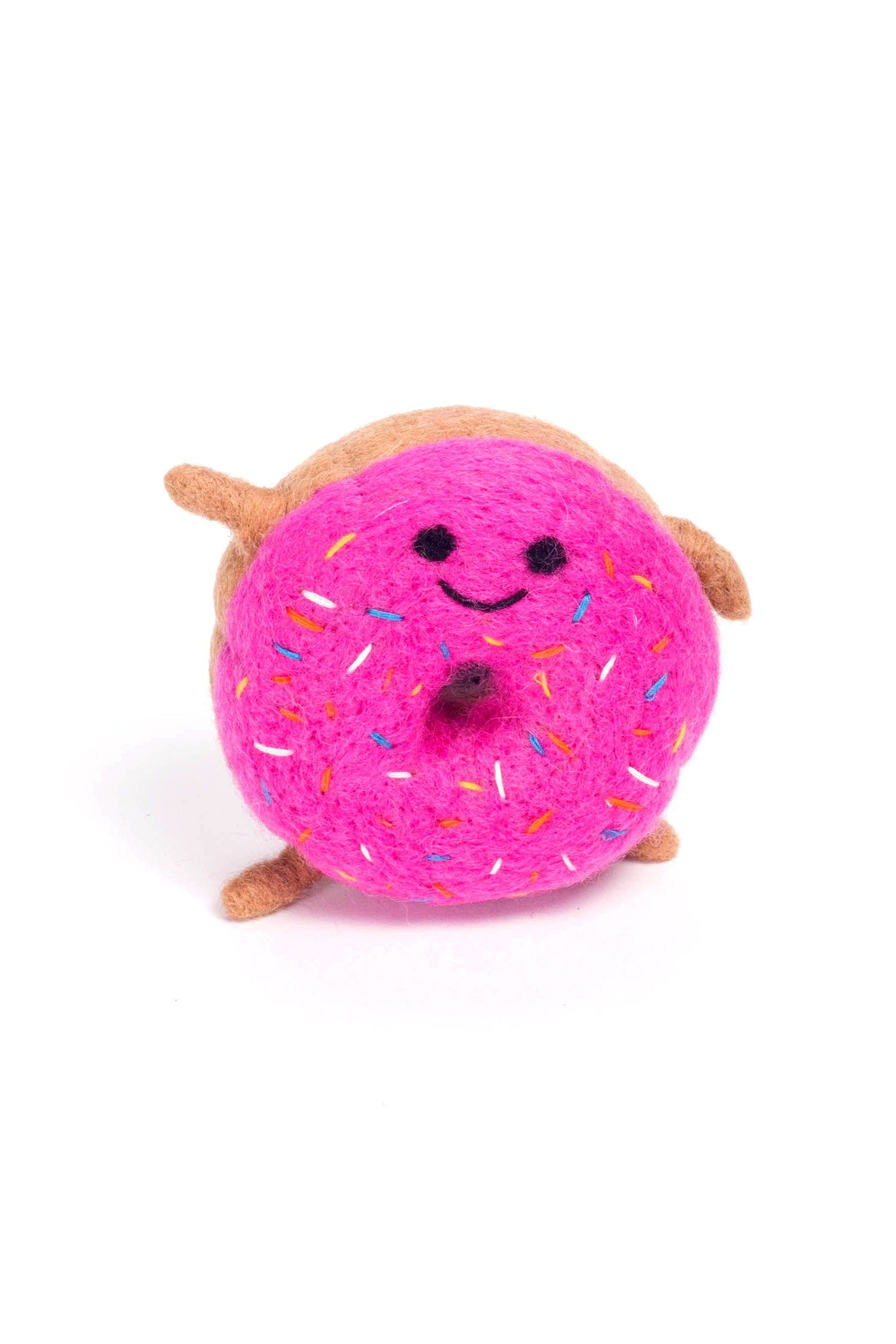 FELTED WOOL DONUT