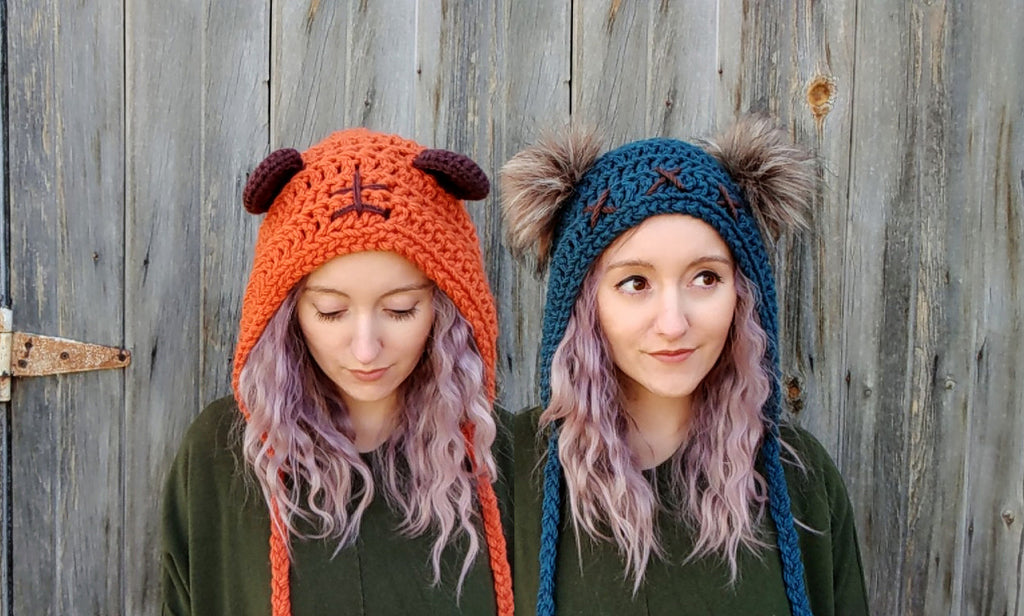 New Crochet Pattern: Ewok-inspired hood