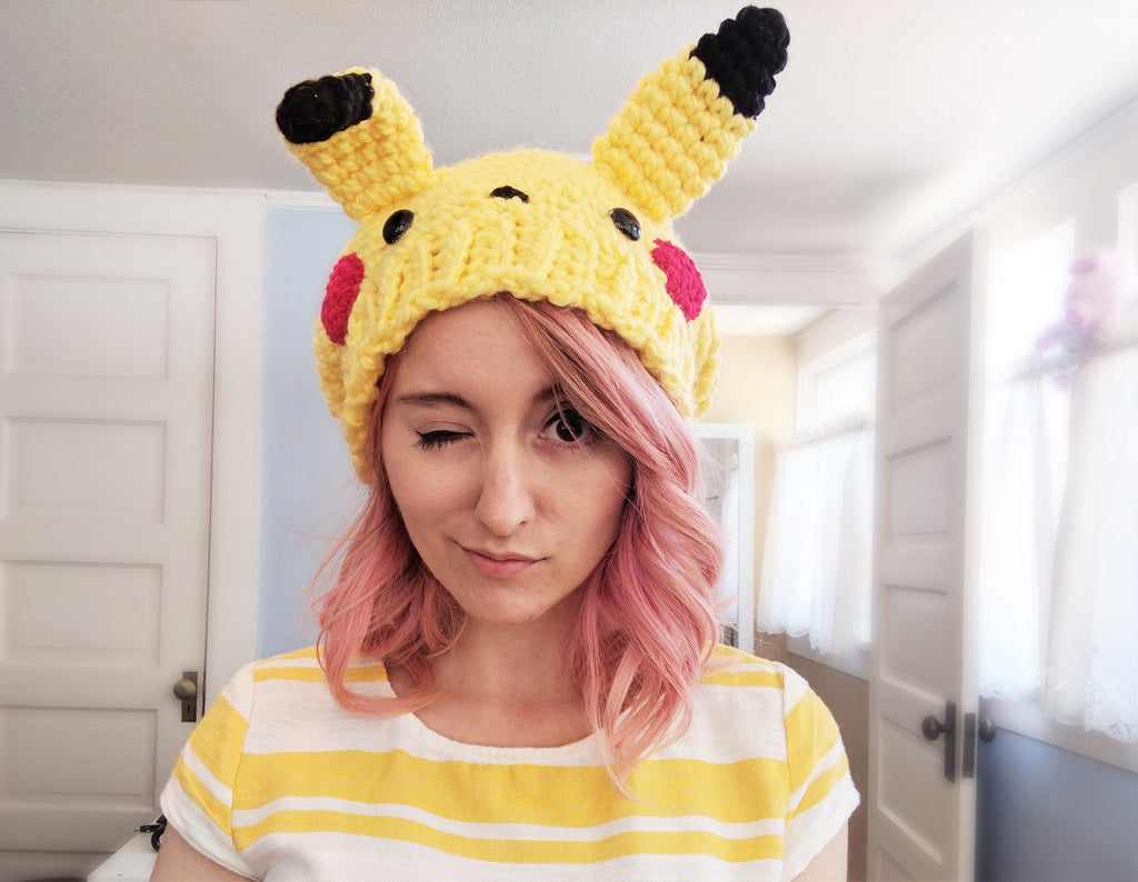 Two new hats to order: Pikachu & Totoro