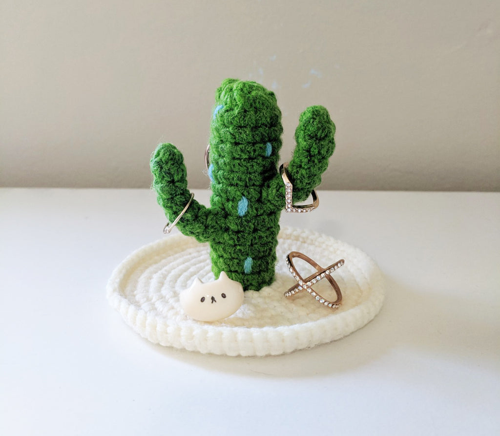 Cactus Jewlery Holder Crochet Pattern