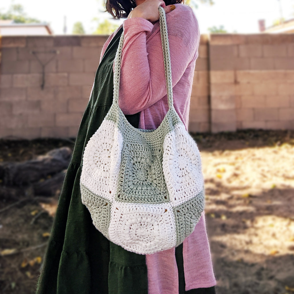 Crochet Pattern: Patchwork Bag
